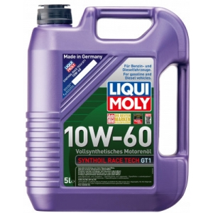 Liqui Moly 10w60 Synthoil Race Tech  GT! 5l