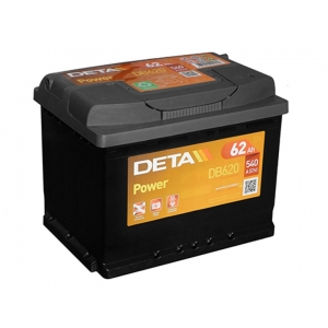DETA POWER 12V/62Ah/540A