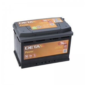 DETA POWER 12V/74Ah/680A