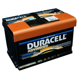 Duracell Advanced 72Ah 660A