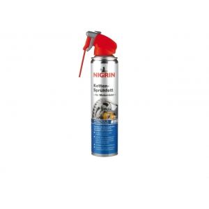 NIGRIN Chain Grease Spray for Motorcycles, 400ml