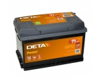 DETA POWER 12V/71Ah/670A